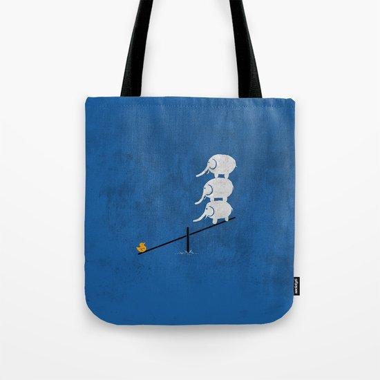 No balance Tote Bag