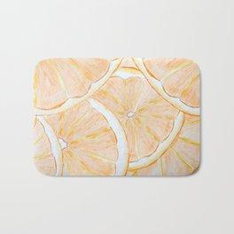 Orange Slices Bath Mat