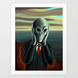 Silent Scream - The Silence Art Print
