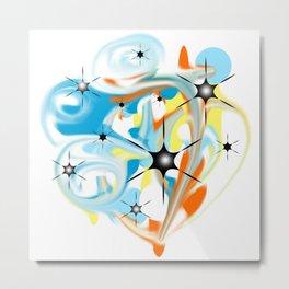 A storm of colors Metal Print