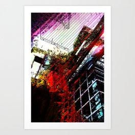 Retaliatory Red Art Print
