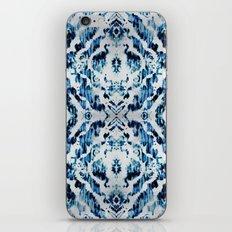 Peacock Tie-Dye Damask iPhone & iPod Skin