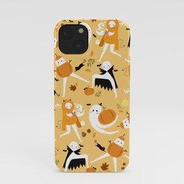 Fall Fresno Nightcrawlers Pattern iPhone Case