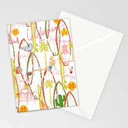 California Vintage Stationery Cards