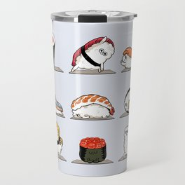 Sushi Yoga Travel Mug