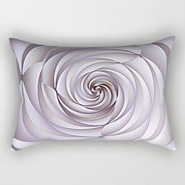 Abstract Rose Rectangular Pillow