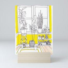 Yellow Bungalow Mini Art Print
