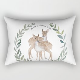 Fawn duo Rectangular Pillow