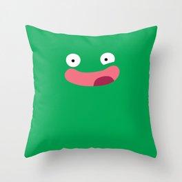Funny Face Throw Pillow