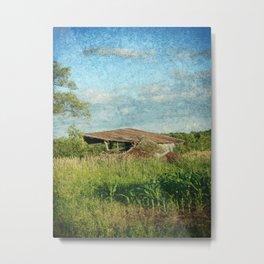 Once A Barn Metal Print