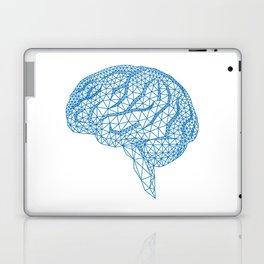 blue human brain Laptop & iPad Skin