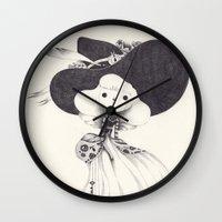 key Wall Clocks featuring key by yohan sacre