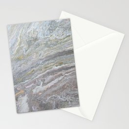 Gold, White, Grey, and Pink Stationery Cards