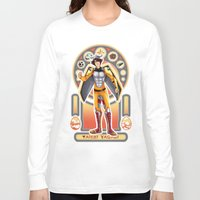 digimon Long Sleeve T-shirts featuring Digimon Cards: Tai by Dralamy