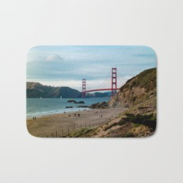 Golden Gate at Baker Beach Bath Mat