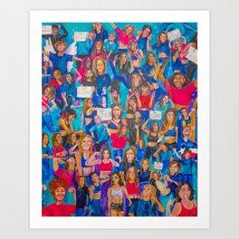 Girl Gang Strong Art Print