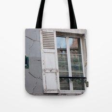 Rue Saint Eleuthere Tote Bag