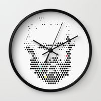 marx Wall Clocks featuring Marx in Dots by The Sound of Applause