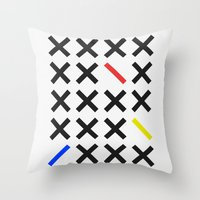 minimalism Throw Pillows featuring Minimalism 3 by Mareike Böhmer
