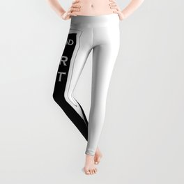 42nd Street - New York Leggings