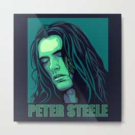 Peter Steele. Green giant Metal Print