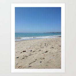 Salt Creek Beach, CA Art Print