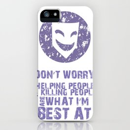 What I'm Best At iPhone Case