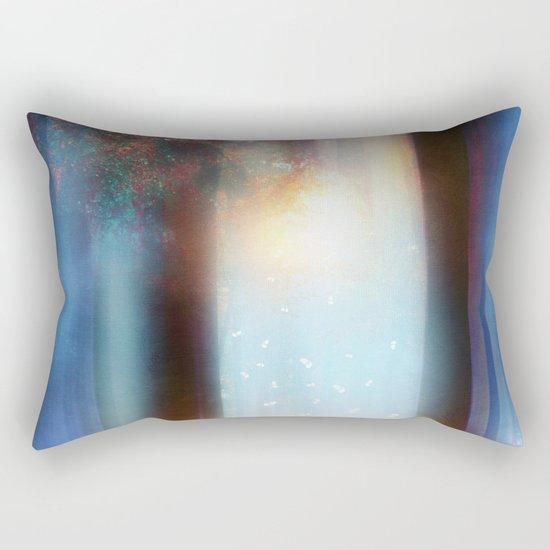 Hope in blue part II Rectangular Pillow