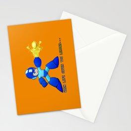 Mega Man Lemons Stationery Cards