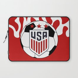 United States Soccer Laptop Sleeve