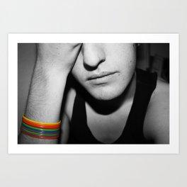 Mr. Homosexual Art Print