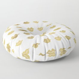 Kiss Collection – Gold Ink Floor Pillow