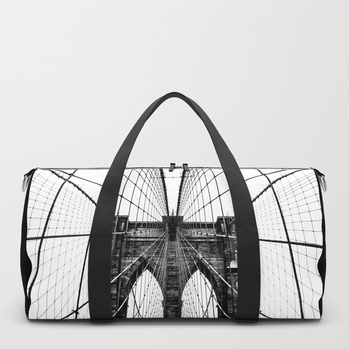 Brooklyn Bridge Web Duffle Bag