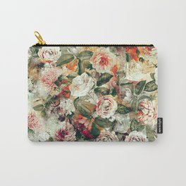 Floral Pattern RPE121 Carry-All Pouch