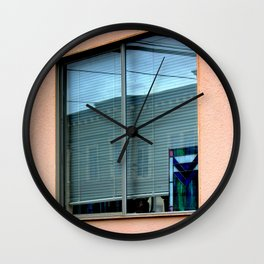 A Bit Of Leaded With Your Glass Wall Clock