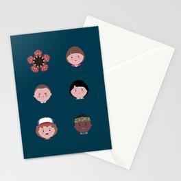 Stranger Icons Stationery Cards