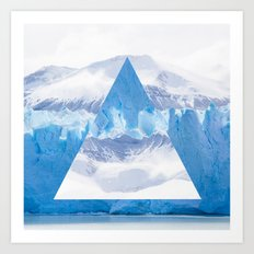 Glacier Three Art Print