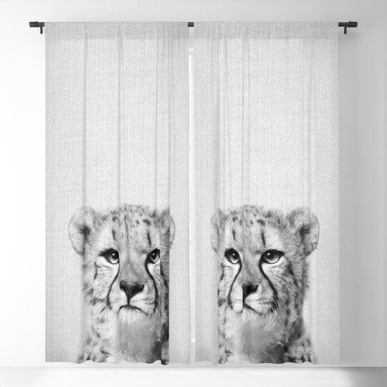 Cheetah - Black & White by galdesign