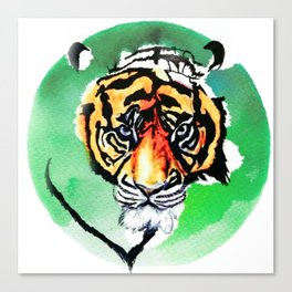 TigerEye&Jade Canvas Print