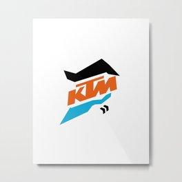 KTM Metal Print