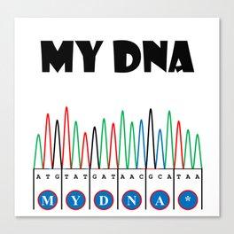 Sangerism - My DNA Canvas Print