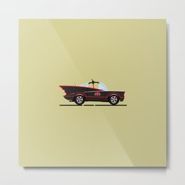 1966 Batmobile Metal Print