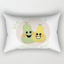 Great Pear Rectangular Pillow