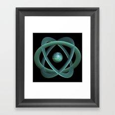 The Atom Age Framed Art Print
