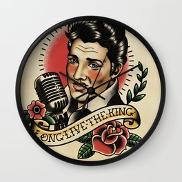 Long Live The King / Elvis Wall Clock