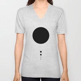 The Solar System (white) Unisex V-Neck
