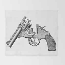 Revolver 3 Throw Blanket