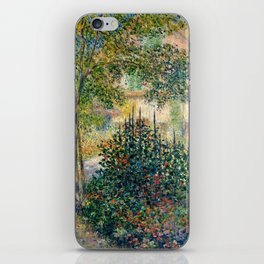 "Claude Monet ""Camille Monet in the garden at Argenteuil"" iPhone Skin"