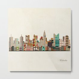 columbus skyline Metal Print