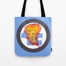 Chibi Human Torch Tote Bag
